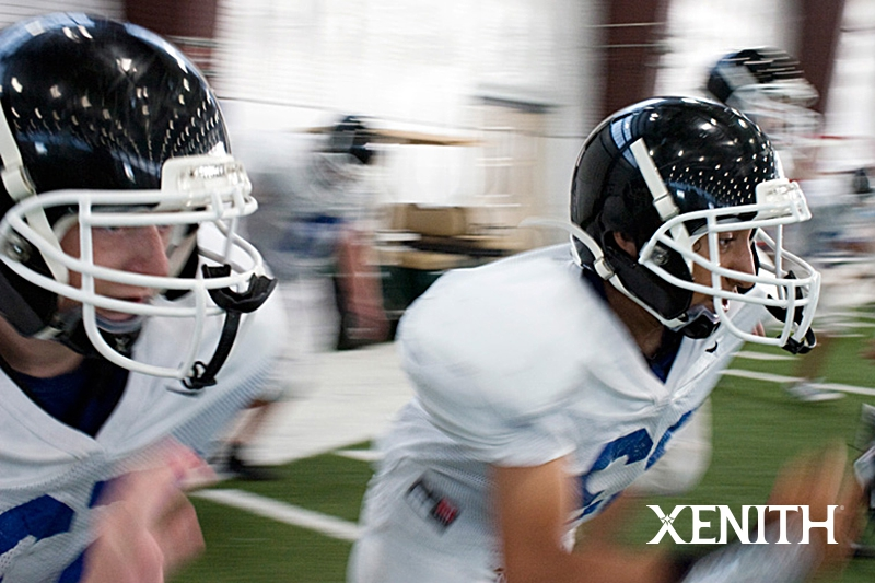 XENITH X-1 football helmet