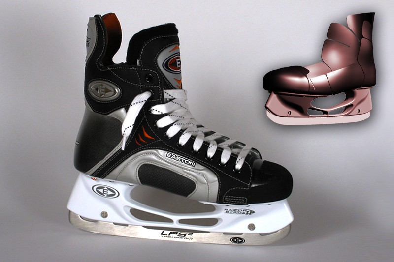 2004 - Synergy Exoskeleton for Ice Skate